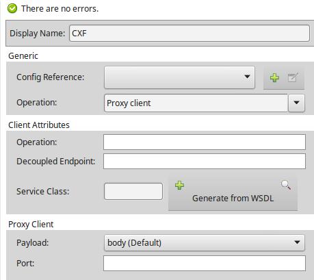 CXF Proxy Client