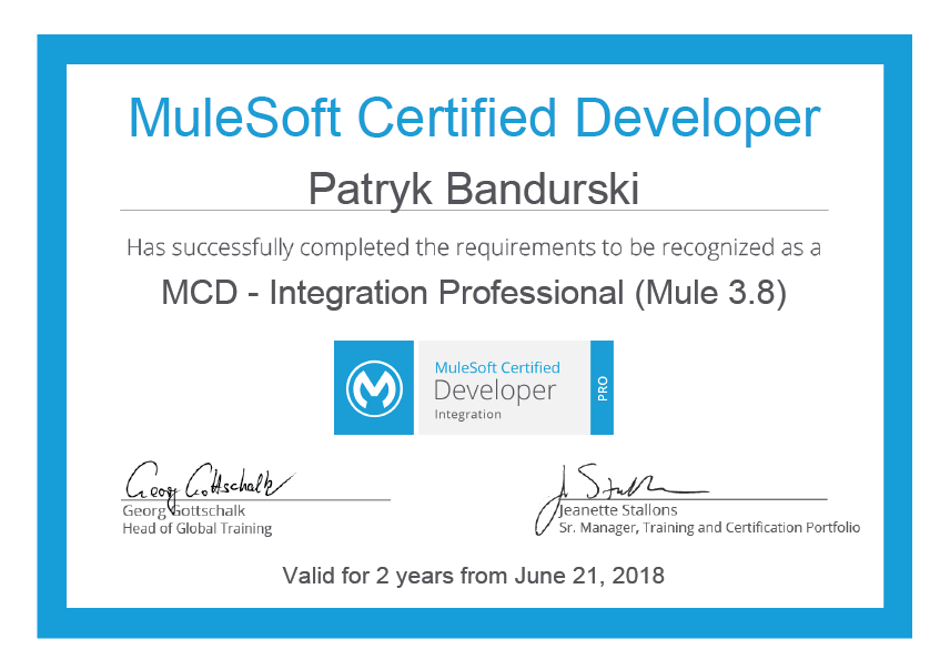 MuleSoft Integration Professional insight