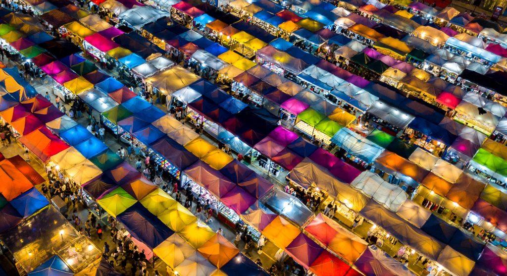 Marketplace. Photo by Geoff Greenwood on Unsplash